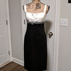 Talbot's Black White Dress 4